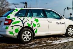 Oklejanie samochodów osobowych Skoda Fabia Kombi