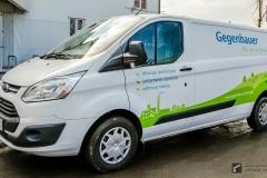 Oklejanie samochodów dostawczych - Ford Transit Custom