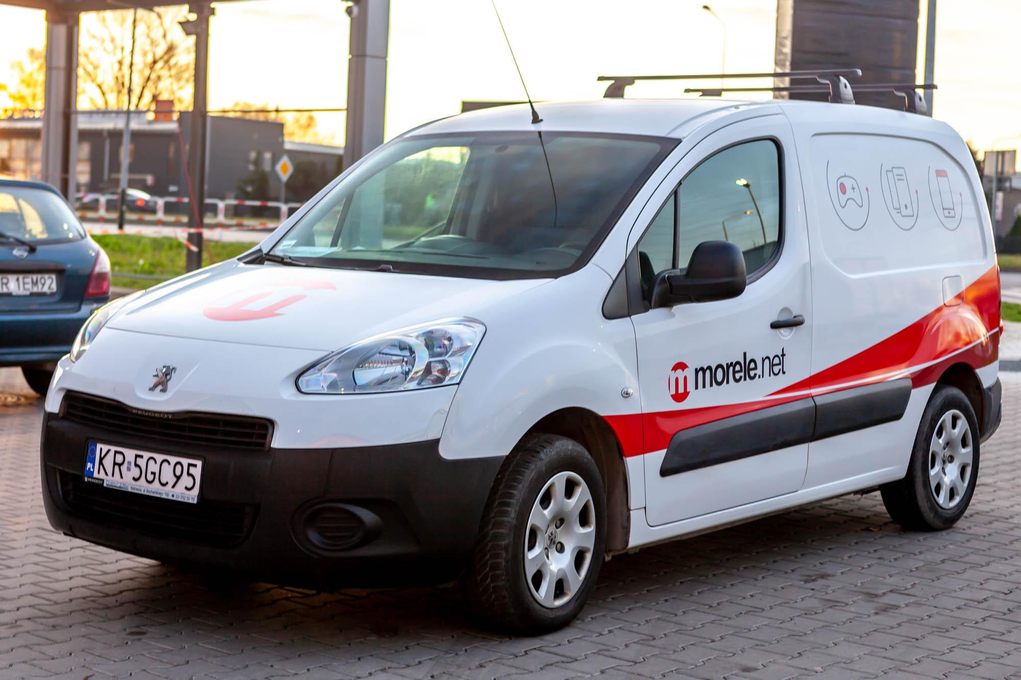 Peugeot Partner dla Morele.net 7