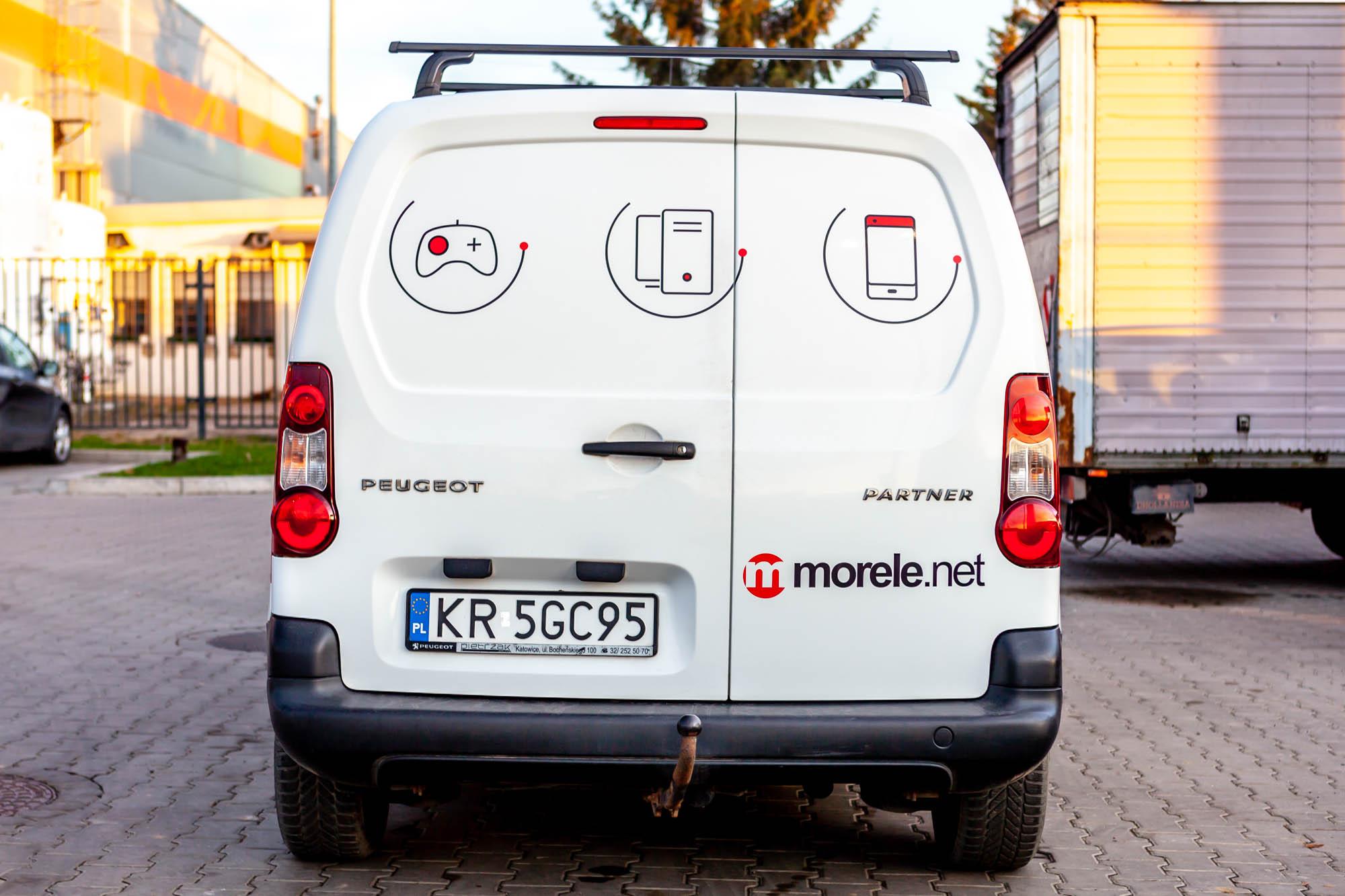 Peugeot Partner dla Morele.net 5