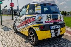 Całopojazdowe oklejenie samochodu MicroCar